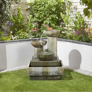 New for 2019, the superb Patina Bowls Water Feature would make a fantastic focal point in any garden