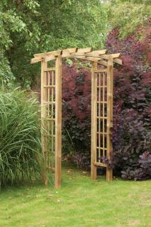 The Ryeford Arch is ideal for creating an entrance in your garden.