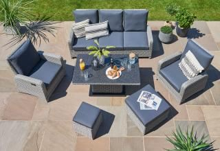 LIFE Outdoor Living Hawaii Reclining Lounge Set