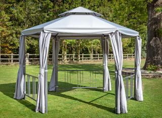 Hartman Hexagonal Gazebo 3.5m