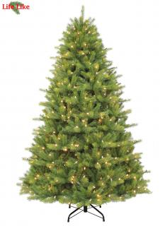 This 7ft pre-lit fir has nice long branches to hang your baubles. FREE Gift included when you buy online.
