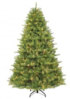 6ft Pre-lit Kensington Fir Life Like Artificial Christmas Tree