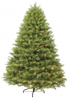 This attractive Life Like mix tree has 400 LED lights woven through its branches. FREE Gift included when you buy online.