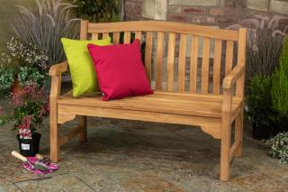 The Kingsbury 4ft Solid Teak Garden Bench has been manufactured from Solid Grade Teak and has been built to last a lifetime