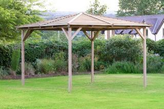 Wow, the Knutsford 2.4m Pavilion is a great investment for the garden.