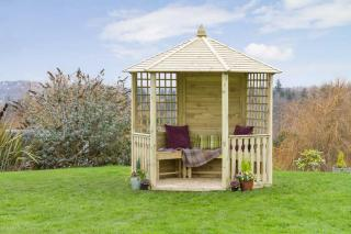 The charming Moreton Gazebo will make a great feature in the garden.