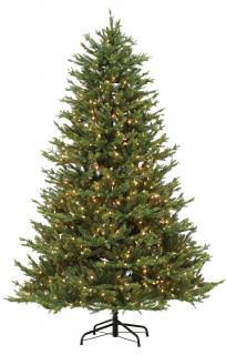 7ft Pre-lit Northern Fir Life Like Artificial Christmas Tree