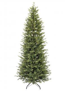 7.5ft Pre-lit Northern Fir Slim Life Like Artificial Christmas Tree