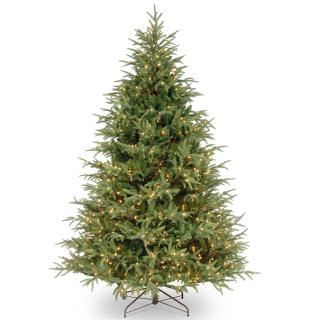 6.5ft Pre-lit Hartford Grande Fir Feel-Real Artificial Christmas Tree