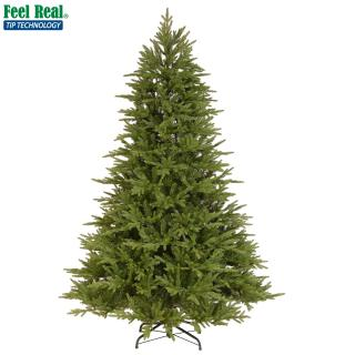 This 6ft spruce is an attractive PE/PVC mix tree with lots of tips for a realistic Christmas display. FREE Gift included when you buy online.
