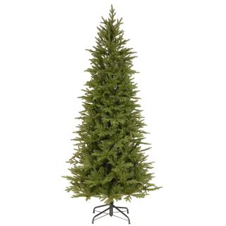 6.5ft Bedminster Spruce Slim Feel-Real Artificial Christmas Tree