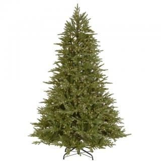 6.5ft Dual Infinity Light Bedminster Spruce Feel-Real Artificial Christmas Tree