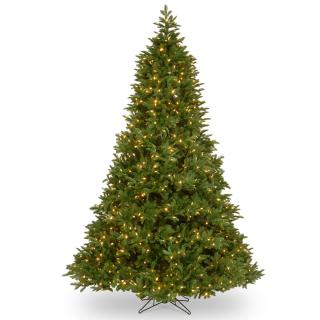 7ft Dual Light Empire Grande Fir Feel-Real Artificial Christmas Tree