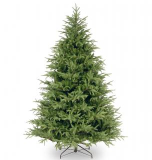 7.5ft Frasier Grande Fir Feel-Real Memory-Shape Artificial Christmas Tree