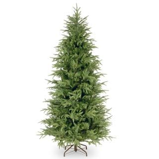 6.5ft Frasier Grande Fir Slim Feel-Real Memory-Shape Artificial Christmas Tree
