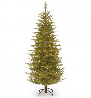 This impressive 8ft slim pre-lit Frasier Grand Fir has a range of technologies for a professional finish. FREE Gift included when you buy online.