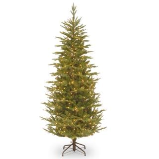 8ft Most Advanced Pre-lit Frasier Grande Fir Slim Feel-Real Artificial Christmas Tree
