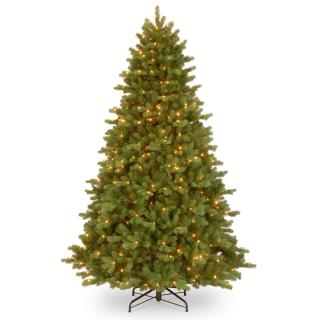 5.5ft Pre-lit Georgetown Fir Feel-Real Artificial Christmas Tree