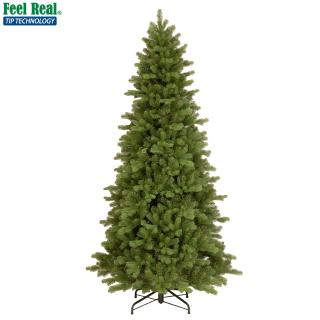 This slim 8ft PE/PVC mix tree would really stand out in a hotel or commercial premises. FREE Gift included when you buy online.