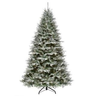7.5ft Snowy Stonington Fir Feel-Real Artificial Christmas Tree