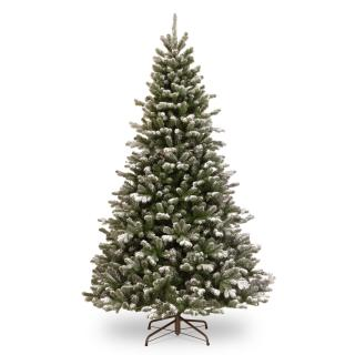 7ft Snowy Sheffield Spruce Feel-Real Artificial Christmas Tree