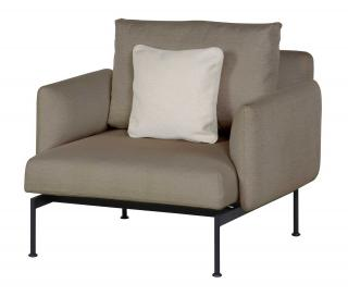 The contemporary Layout Armchair is ideal for anyone who is wanting to customize their garden furniture.