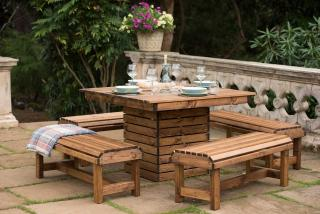 RSPB Redwood Table Set