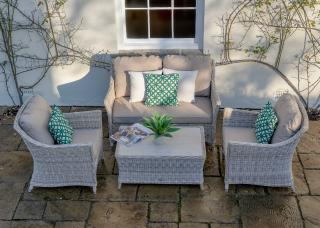 Bramblecrest Ascot Lounge Set including Cushions