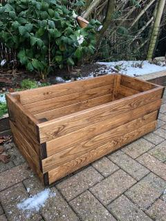 Redwood Rectangular Planter