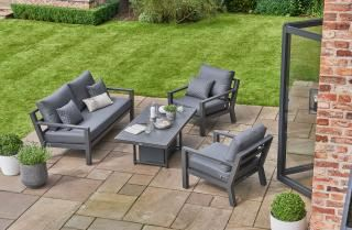 LIFE Outdoor Living Timber Lounge Set