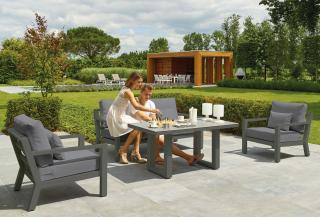 LIFE Outdoor Living Timber Sofa Set