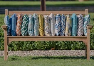 Garden Furniture Cushions Hayes, Waterproof Garden Bench Pads Uk