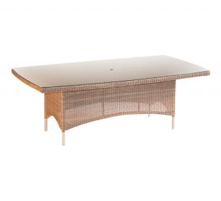 Valencia Rectangular Table in Sand
