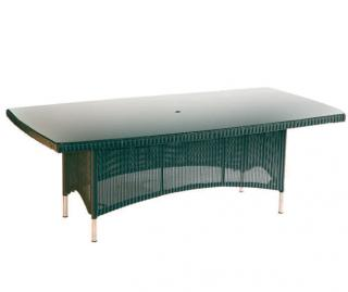 Westminster Code PVLT281 + glass. A large rectangular table with a glass top.