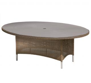 Westminster Valencia Oval Table 2m in Sand