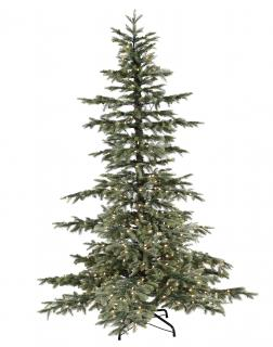 8ft Pre-lit Windsor Spruce Life Like Artificial Christmas Tree