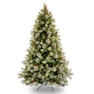 7ft Wintry Pine Artificial Christmas Tree