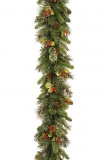 9ft Wintry Pine Artificial Christmas Garland