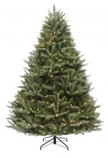 7ft Pre-lit Washington Valley Spruce Life Like Artificial Christmas Tree