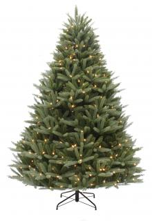 6ft Pre-lit Washington Valley Spruce Life Like Artificial Christmas Tree