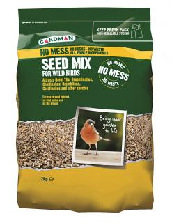 A nutritious, oil rich, high protein food that will attract many birds to your garden.