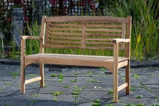 Alexander Rose 4ft Bracket FSC Garden Bench