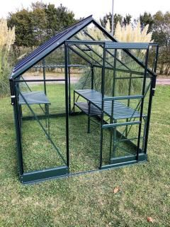 Vitavia Apollo 6200 Greenhouse in Green