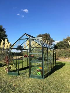 Vitavia Apollo 2500 Greenhouse in Green