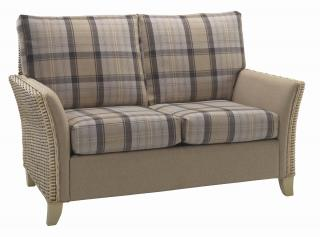 The contemporary Arlington Two Seater Sofa would sit elegantly in any conservatory or dining area.