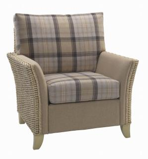 The contemporary Arlington Armchair would sit elegantly in any conservatory or dining area.