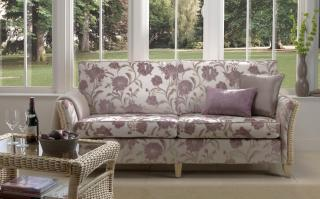 Desser Arlington Conservatory Suite with Three Seater Sofa