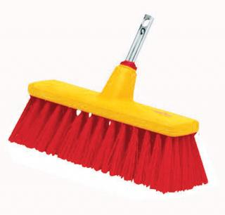 Wolf-Garten multi change range Yard Broom can be used for general use in the garden and house.