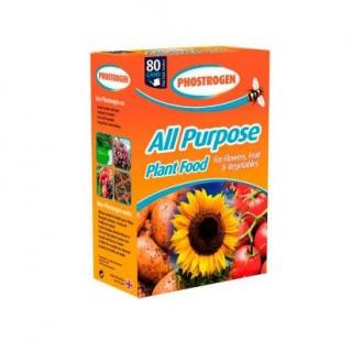 Bayer Phostrogen All Purpose Soluble Plant Food 80 Cans. All purpose soluble feed for a healthy garden. Just add water.