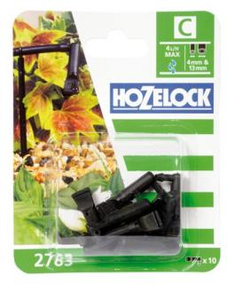 Hozelock Automatic Watering Hose End Line Dripper - 2783. Simple fixed flow 4 l/h end of line dripper. Pack of 10.